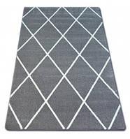 Ковер Лущув Sketch 280x370 см серый прямоугольный (GR2445)