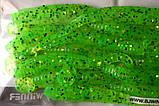 Силиконовая приманка съедобная Червь (Worm Tail), TBR-005, цвет 020, 12шт., фото 5