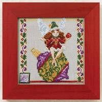 "Набор для вышивания ""Ornament Fairy//Фея украшений"" Mill Hill"