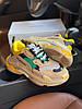"Женские кроссовки Balenciaga Triple S ""Yellow/Green/Vert"" в стиле Баленсиага), фото 2"