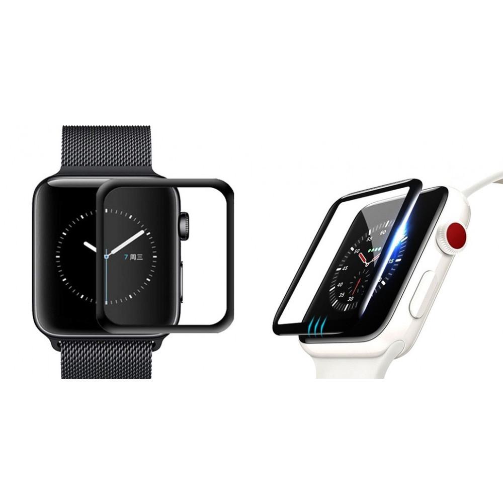 Защитное стекло для Apple Watch 3D Full Glue 44mm (в упаковке)