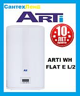 Водонагреватель  ARTI WH FLAT E 100L/2 Вертикально-Горизонтальный