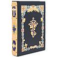 Библия в кожаном переплете декорирована позолотой и эмалями, фото 3