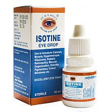 Глазные капли Айсотин (Isotine, Jagat Pharma), 10 мл