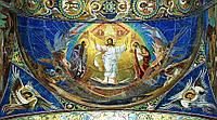 Вышивка камнями Преображение Господне в размере 90 х 50 см