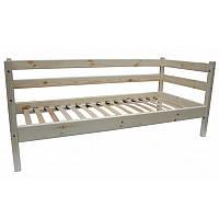 """Одноярусная кровать Комфорт"""" из дерева, фото 1"""