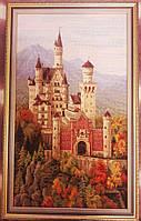 Замок Нойшванштайн (вышитая картина РУЧНОЙ РАБОТЫ)