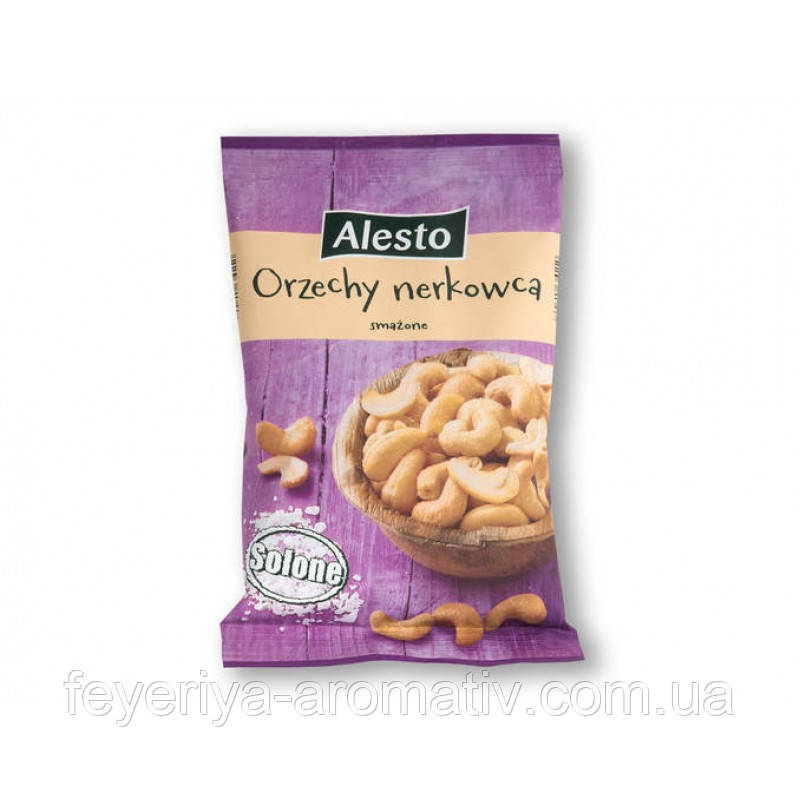 Орешки кешью с солью Alesto Orzechy nerkowca, 150гр