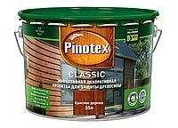 Средство для защиты дерева Pinotex Classic красное дерево 10л