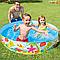 Бассейн каркасный семейный.Круглый бассейн каркасный.Детский каркасный бассейн Интекс., фото 4