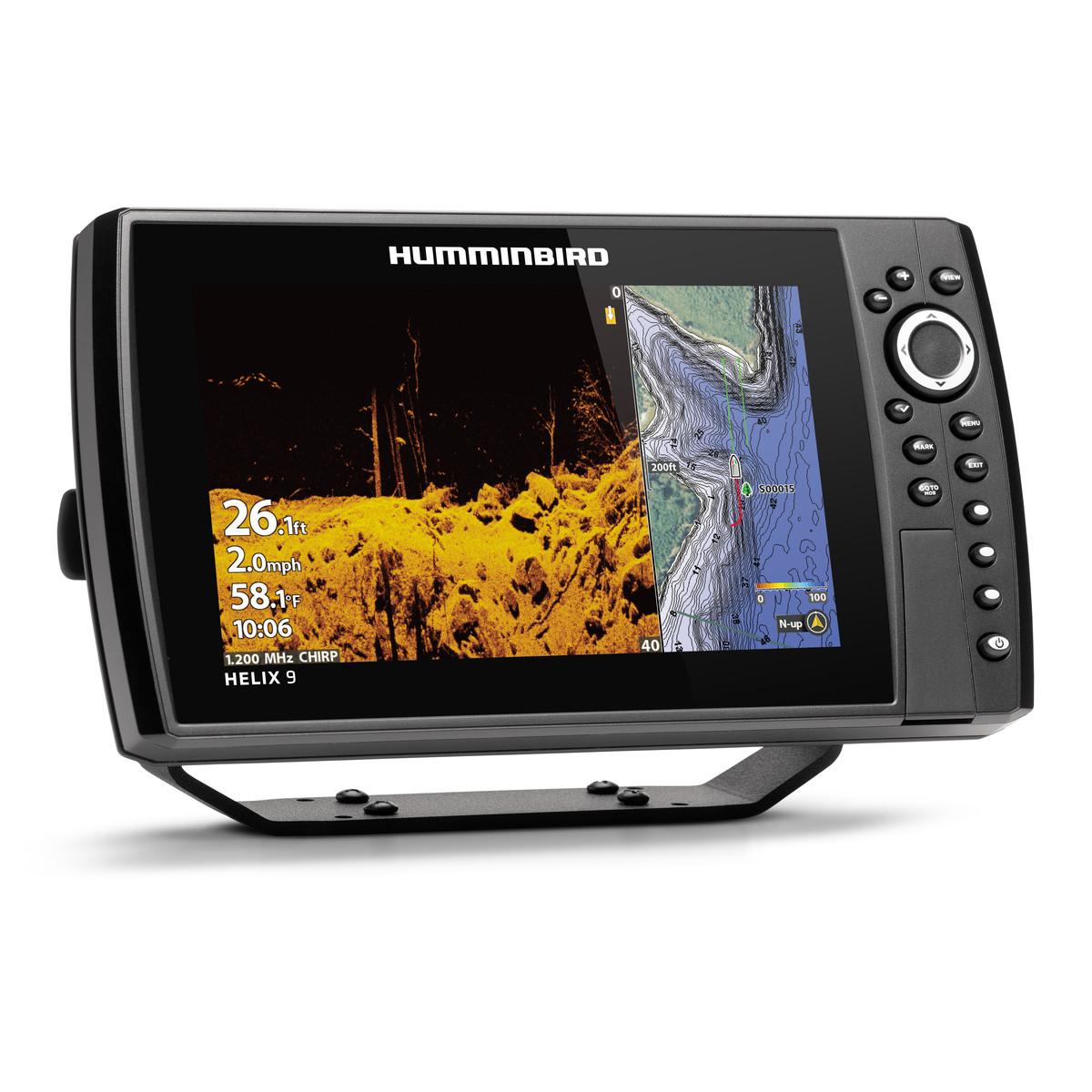 Ехолот Картплотер Humminbird HELIX 9 CHIRP MEGA SI+ GPS G3N