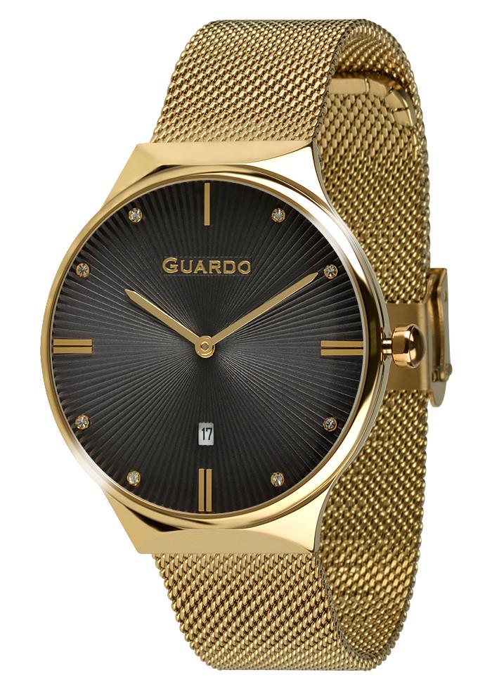 Годинники жіночі Guardo золоті 012473-(1)-4 золоті