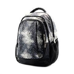 Шкільний сірий рюкзак (ортопедичний) / Школьный серый портфель (ортопедический)