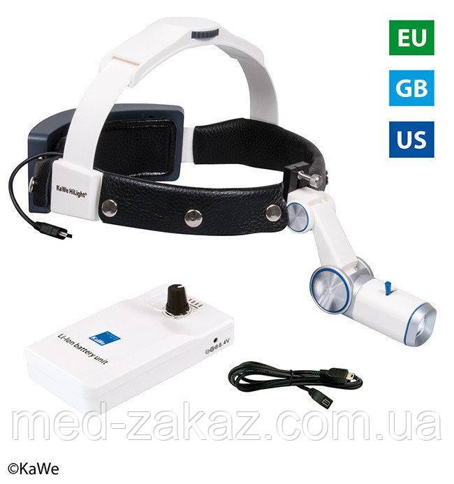 Налобный осветитель HiLight® LED H-800 с аккумулятором для крепления на ремень
