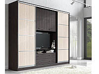 Гостиная-купе Наоми с нишей под ТВ (Мебель стар) 2700х550х2200