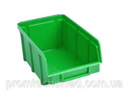 Ящик 702 для хранения метизов зеленый 170х100х70мм