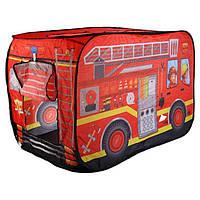 Палатка игровая детская Bambi M 3716, пожарная машина