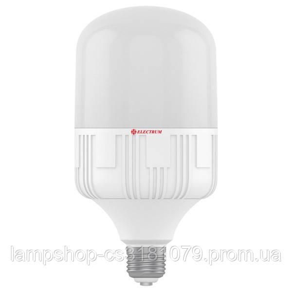 Лампа светодиодная промышленная LP-40 40W E40 4000K алюмопластиковый корп. A-LP-1083