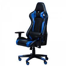Геймерское (игровое) компьютерное кресло Zeus Drive blue синее
