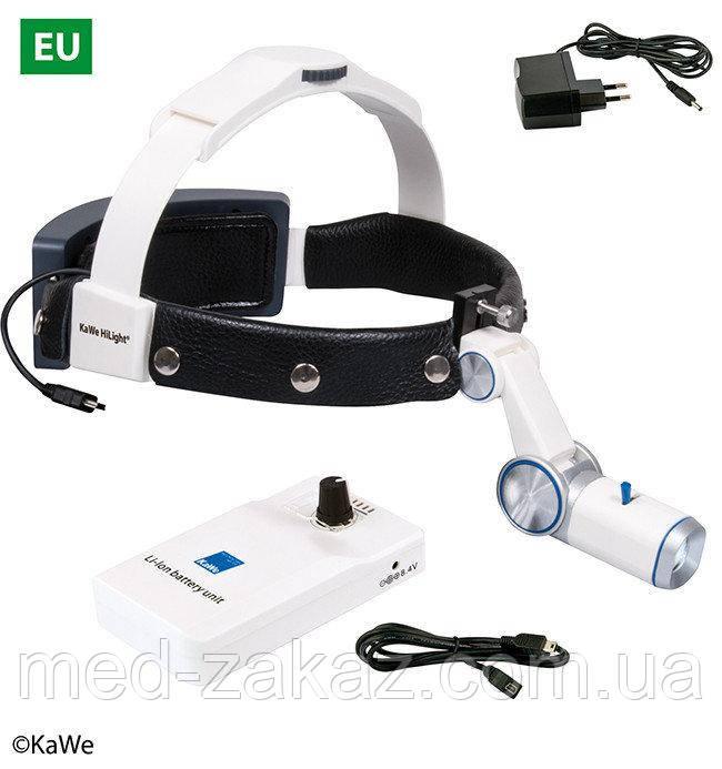 Налобный осветитель HiLight® LED H-800 с аккумуляторoм для крепления на ремень (EC)