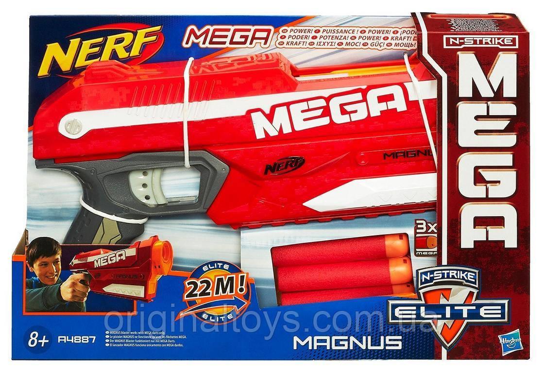 Бластер Nerf Нерф Магнус Nerf N-Strike Elite Mega Magnus Hasbro A4887