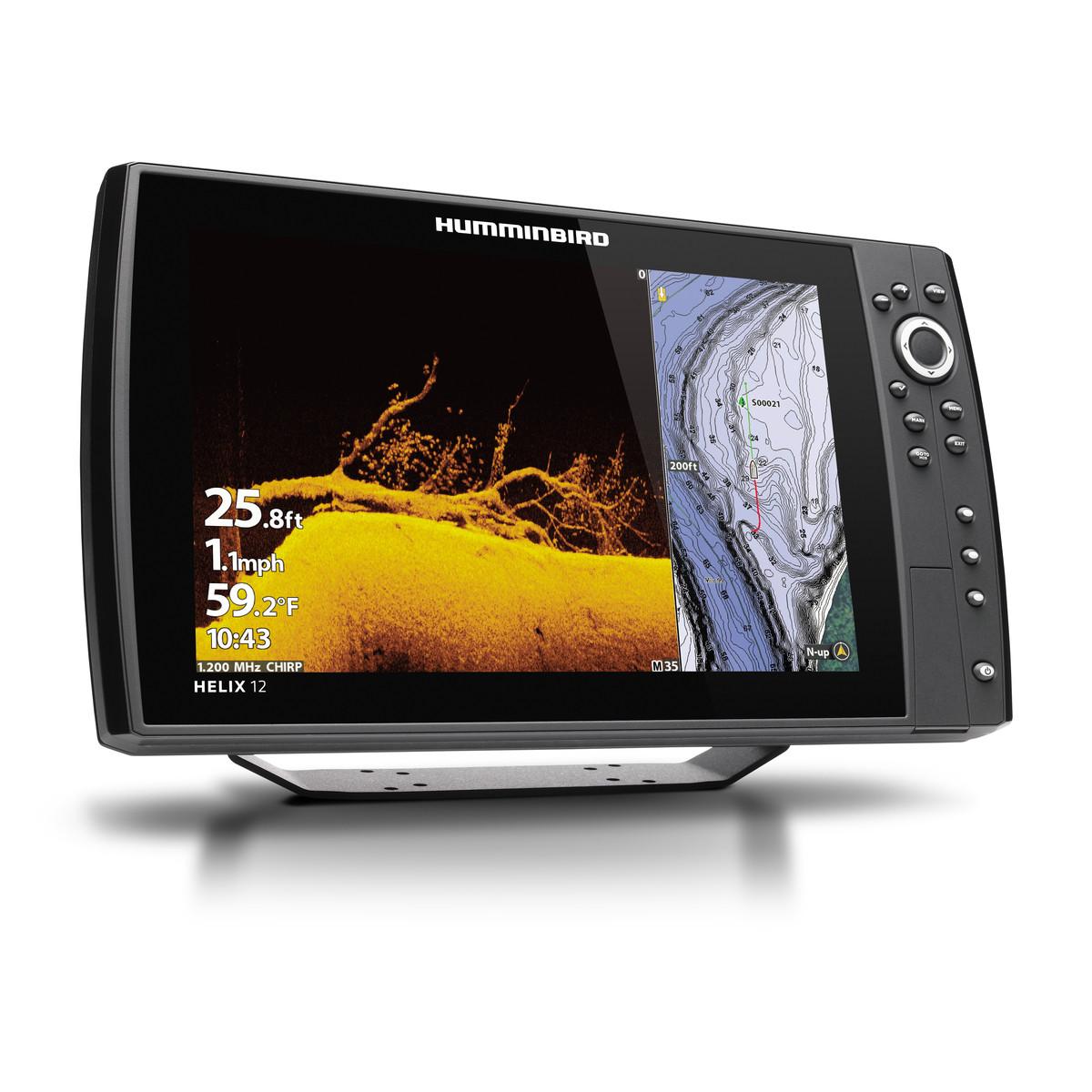 Эхолот Humminbird HELIX 12 CHIRP MEGA SI+GPS G3N