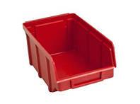 Ящик складской 702 для хранения метизов красный