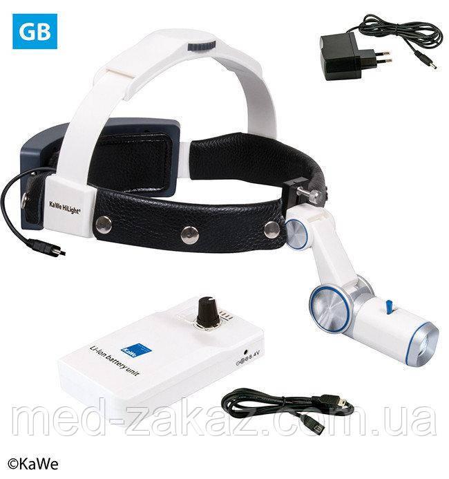 Налобный осветитель HiLight® LED H-800 с аккумуляторoм для крепления на ремень (ВБ)