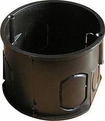 Коробка установочная кирпич/бетон, одиночная с шурупом (уп.100 шт.)