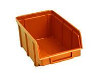 Ящик складской 702 для хранения метизов оранжевый