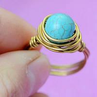 Кольцо / натуральный камень, металл / Китай, фото 1