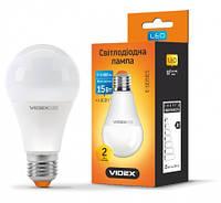 Led лампа Videx a65e 15w e27 3000K 220V