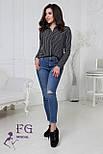 """Жіноча блузка в смужку """"Felicity"""", фото 2"""