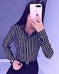 """Жіноча блузка в смужку """"Felicity"""", фото 4"""