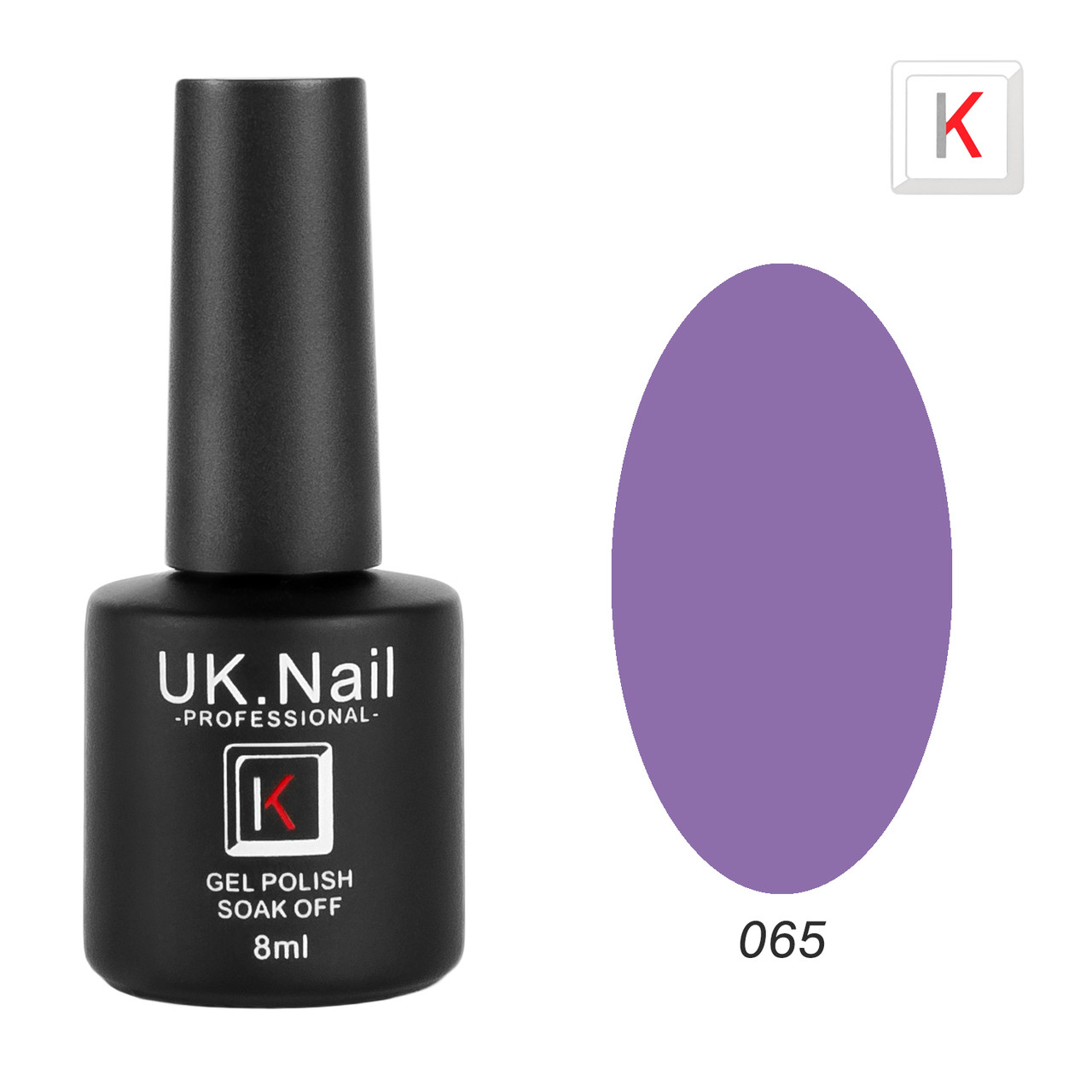 Гель-лаки UK.Nail 8мл №65