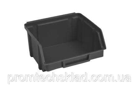 Ящик 703 для хранения метизов черный 90х100х50 мм