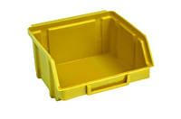 Ящик складской 703 для хранения метизов желтый