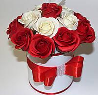 Цветы из мыла, розы из мыла
