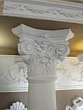 Колонна из гипса, гипсовая колонна ка-8 Ø160 мм. (1/2), фото 3