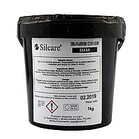 Гель для наращивания Silcare LED Crystal Сlear, 1 кг