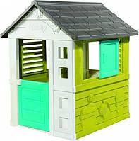 Игровой домик со ставнями Радужный Smoby (810710)