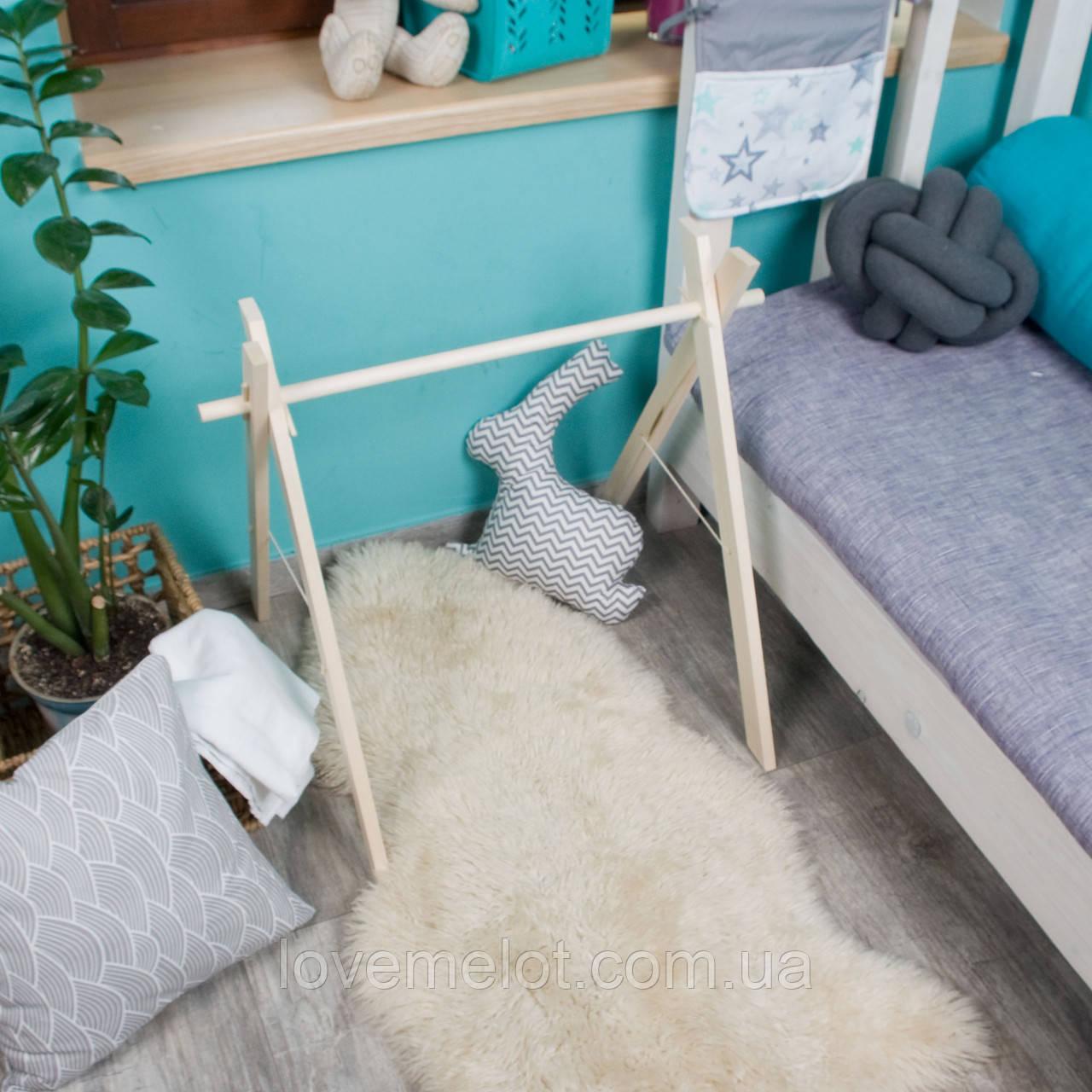 Детский деревянный напольный мобиль для новорожденных игровая зона для ребенка с рождения и до 8 месяцев