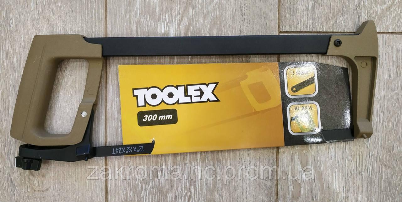 Ножовка по металлу 300мм полотно-лезвие 12мм. TOOLEX