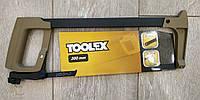Ножовка по металлу 300мм полотно-лезвие 12мм. TOOLEX, фото 1