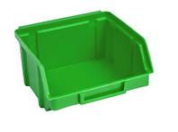 Ящик 703 для хранения метизов зеленый 90х100х50 мм, фото 1