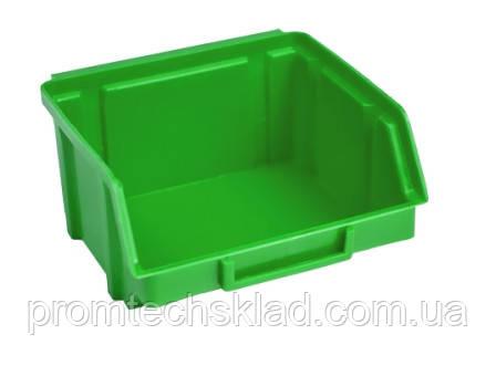 Ящик 703 для хранения метизов зеленый 90х100х50 мм