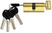 Цилиндровый механизм USK B-70 (35x35) ключ/поворотник Золото, фото 1
