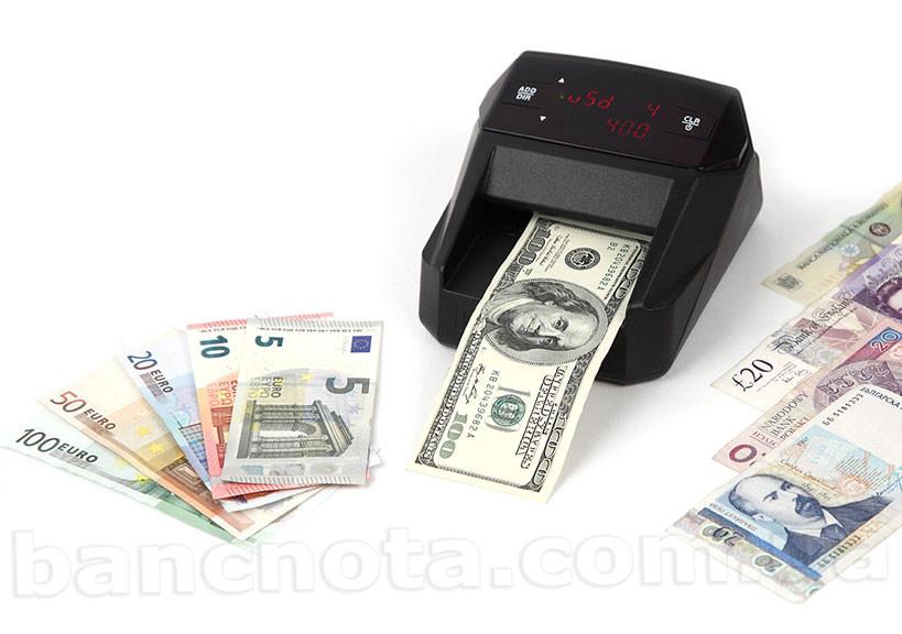 Moniron Dec Multi Black Автоматический детектор валют