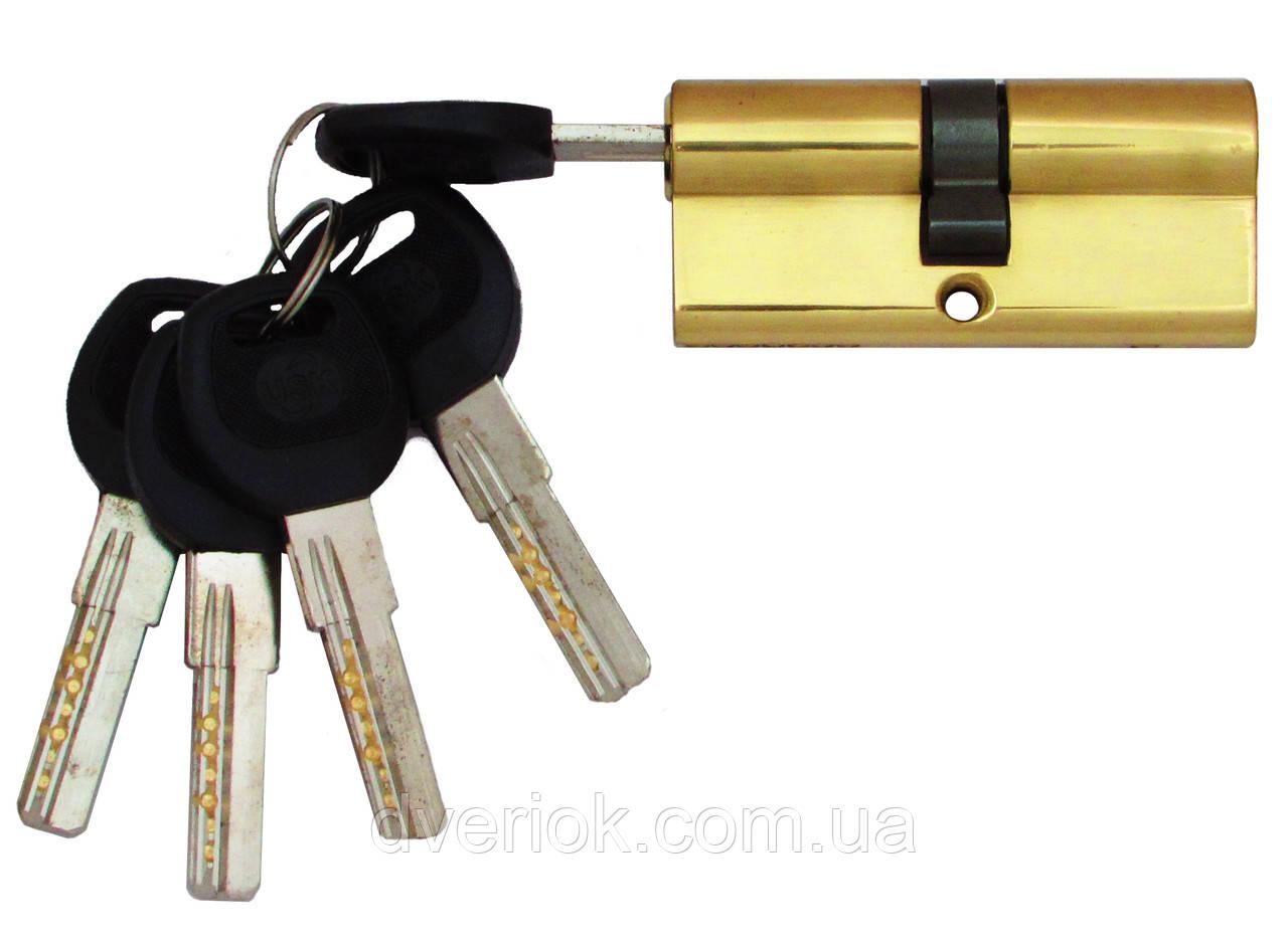 Цилиндровый механизм USK B-70 (35x35) ключ/ключ