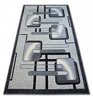 Ковер Лущув BCF Base 120x160 см серый прямоугольный (DEV725)